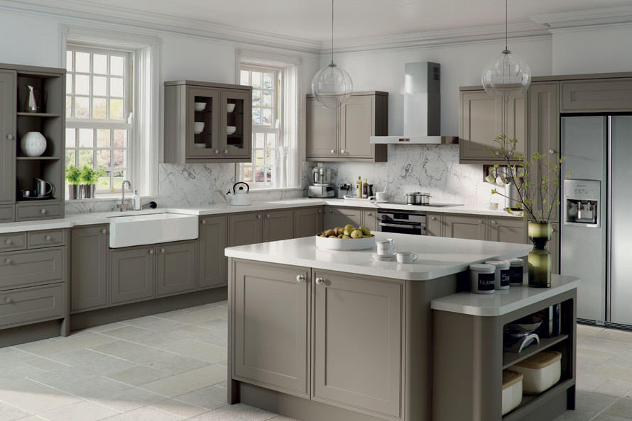The New Color In Kitchens Tithof Tile Marble - Colours to go with grey kitchen