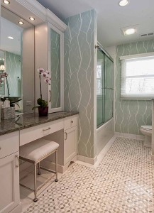 Tithof Tile & Marble custom bathroom