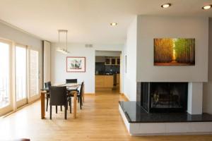 Tithof Tile & Marble custom fireplace